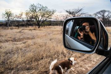 Our kind of walkies, Zambia