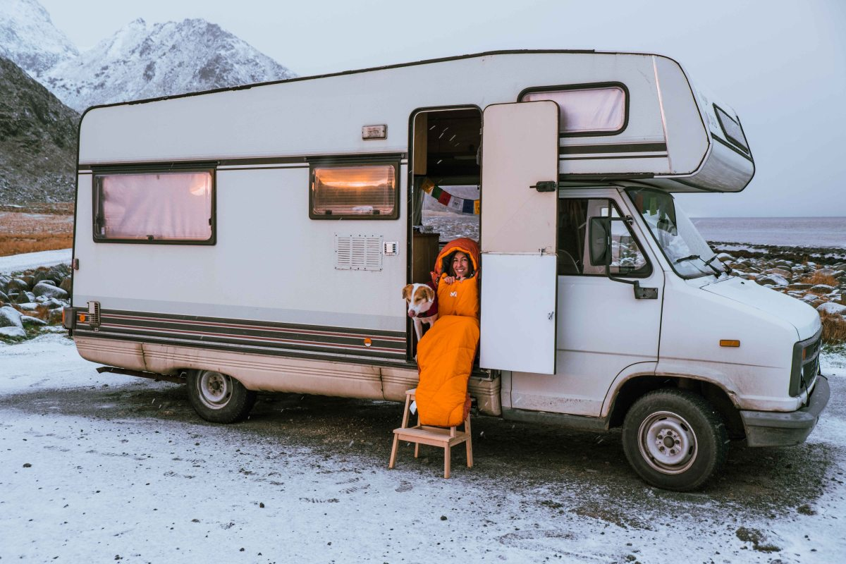 Camper route through Norway: 54days